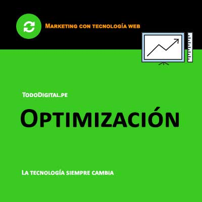marketing digital - optimizacion