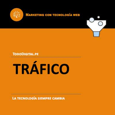 marketing digital - trafico